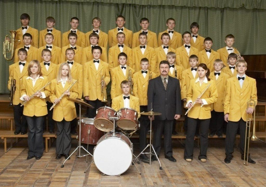 Детский образцовый духовой оркестр